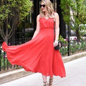 NWOT Betsey Johnson pebble crepe midi dress